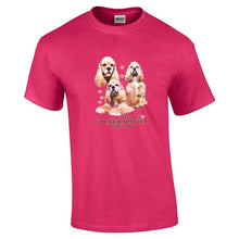 "Load image into Gallery viewer, ""Just A Dog""  Breed T Shirt Cocker Spaniel"
