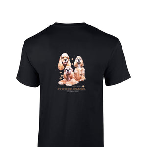 """Just A Dog""  Breed T Shirt Cocker Spaniel"