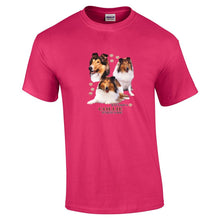 "Load image into Gallery viewer, ""Just A Dog""  Breed T Shirt Collie"