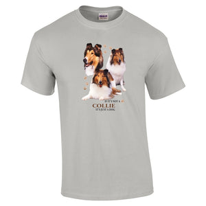 """Just A Dog""  Breed T Shirt Collie"
