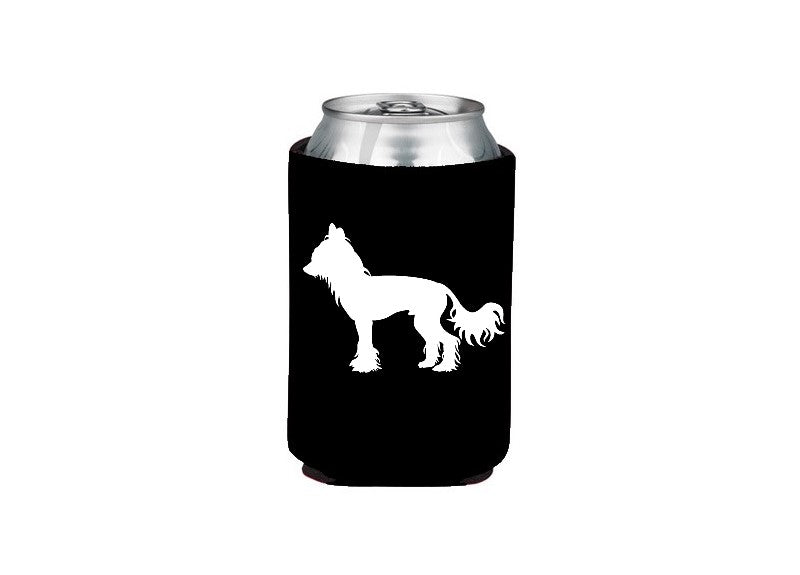 Chinese Crested Koozie Beer or Beverage Holder