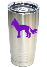 Load image into Gallery viewer, Chinese Crested  20 oz.  Ring-Neck Vacuum Insulated Tumbler