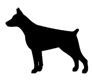 Doberman Pinscher Dog Decal