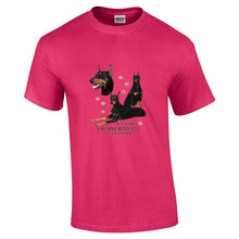 "Load image into Gallery viewer, ""Just A Dog""  Breed T Shirt Doberman"
