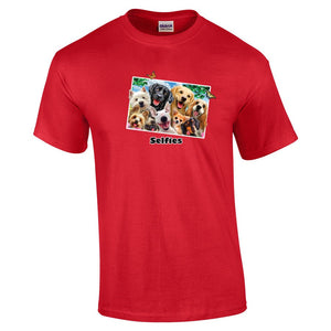 Dog Selfie T Shirt