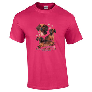 """Just A Dog""  Breed T Shirt Dachshund"