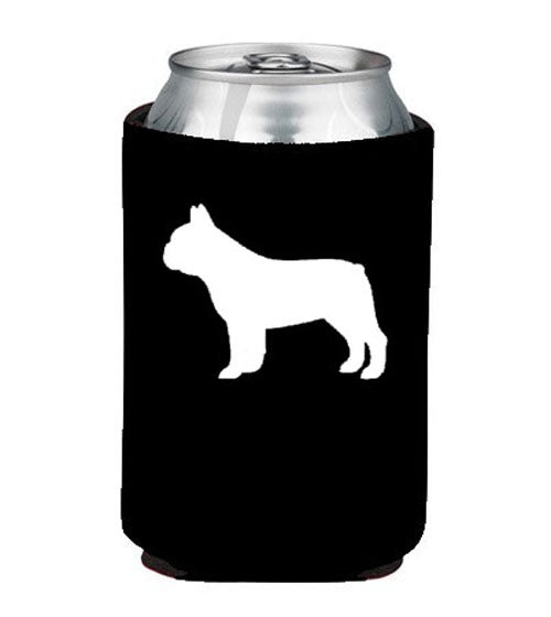 French Bulldog Koozie Beer or Beverage Holder