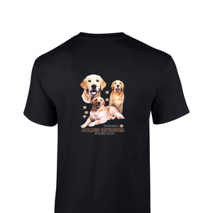 """Just A Dog""  Breed T Shirt Golden Retriever"