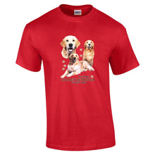 "Load image into Gallery viewer, ""Just A Dog""  Breed T Shirt Golden Retriever"