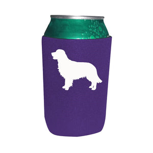Golden Retriever Koozie Beer or Beverage Holder