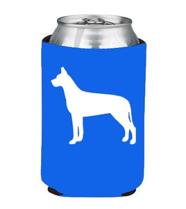 Great Dane Koozie Beer or Beverage Holder