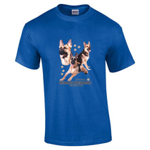 "Load image into Gallery viewer, ""Just A Dog""  Breed T Shirt German Shepherd"