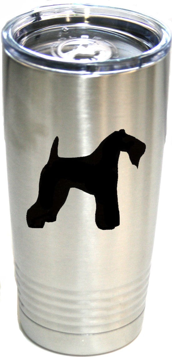 Kerry Blue Terrier  20 oz.  Ring-Neck Vacuum Insulated Tumbler