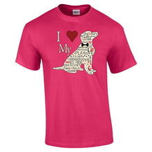 Load image into Gallery viewer, I Heart My Dog T Shirt