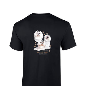 """Just A Dog""  Breed T Shirt Maltese"