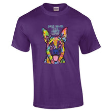 Load image into Gallery viewer, Dean Russo T Shirt Dog's Never Lie About love
