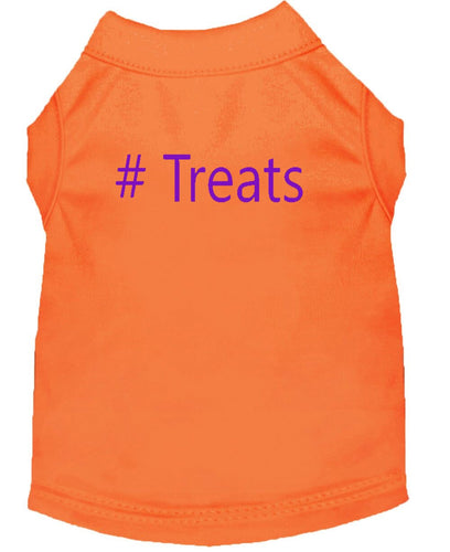 Dog Shirt Orange  # Treats