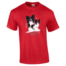 "Load image into Gallery viewer, ""Just A Dog""  Breed T Shirt Papillon"