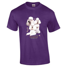 "Load image into Gallery viewer, ""Just A Dog""  Breed T Shirt Poodle"