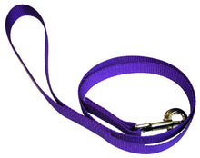 Load image into Gallery viewer, Webbing Dog Leash Purple