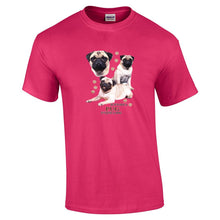 "Load image into Gallery viewer, ""Just A Dog""  Breed T Shirt Pug"