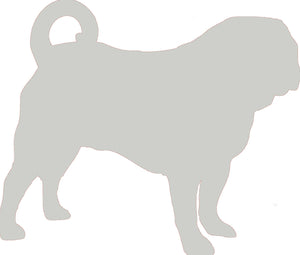 Pug Dog Decal
