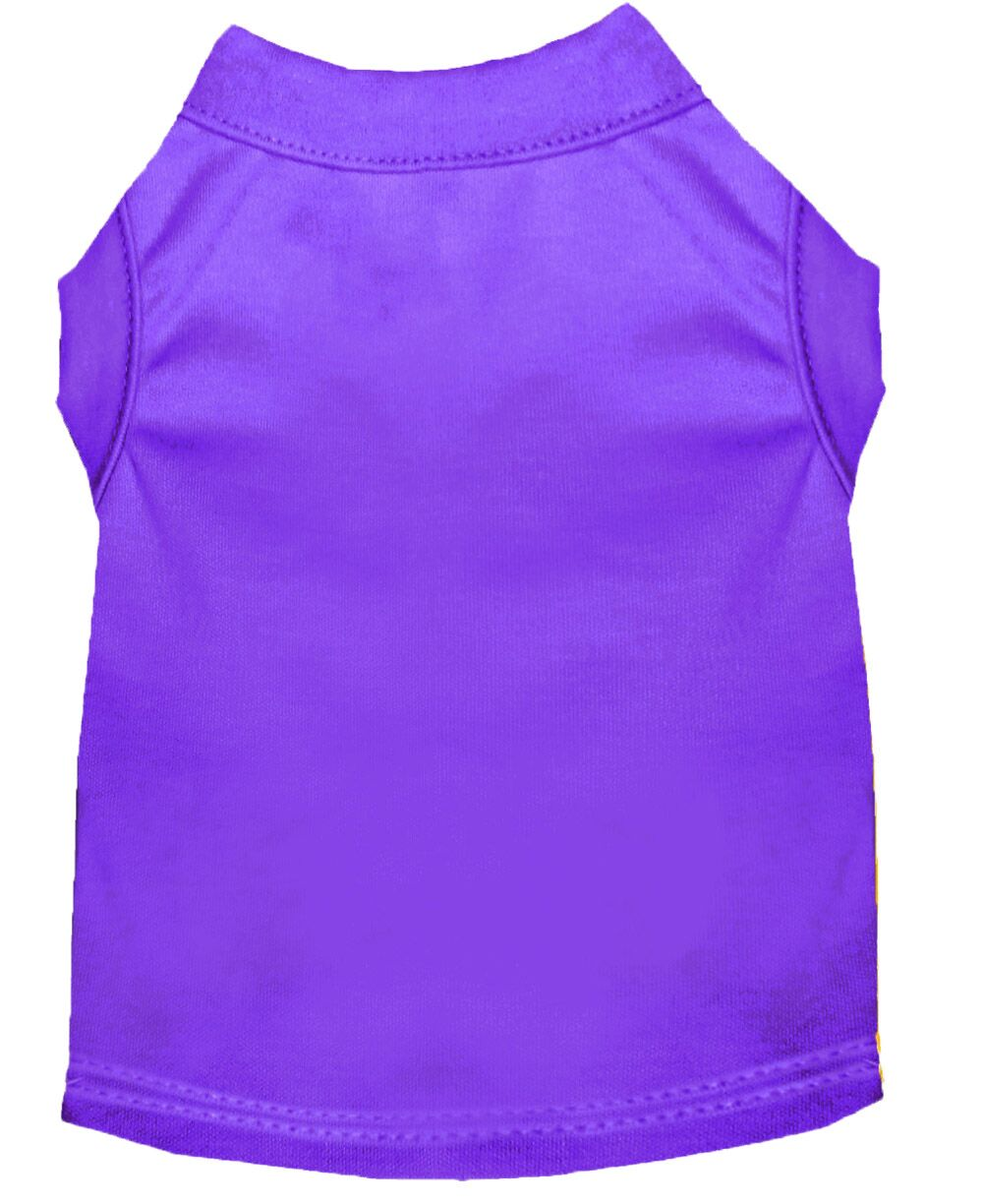 Plain Dog Shirt Purple