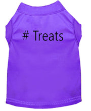 Load image into Gallery viewer, Dog Shirt Purple   # Treats