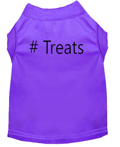 Dog Shirt Purple   # Treats