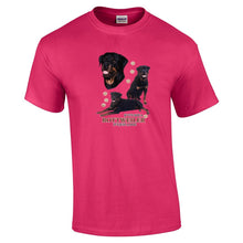 "Load image into Gallery viewer, ""Just A Dog""  Breed T Shirt Rottweiler"