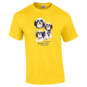 """Just A Dog""  Breed T Shirt Shih Tzu"