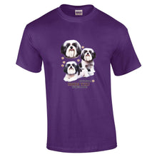 "Load image into Gallery viewer, ""Just A Dog""  Breed T Shirt Shih Tzu"