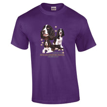 "Load image into Gallery viewer, ""Just A Dog""  Breed T Shirt English Springer Spaniel"