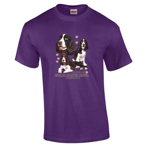 """Just A Dog""  Breed T Shirt English Springer Spaniel"