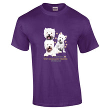 "Load image into Gallery viewer, ""Just A Dog""  Breed T Shirt West Highland Terrier"