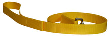 Load image into Gallery viewer, Webbing Dog Leash Yellow