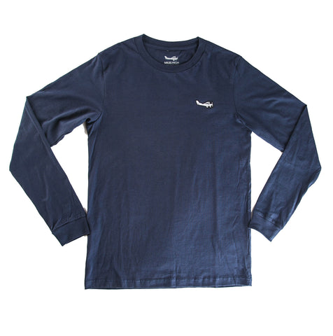 Essential Long Sleeve (Bluestone)