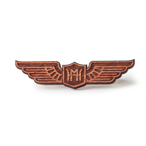 Wooden Pilot Wings (Blood Wood)