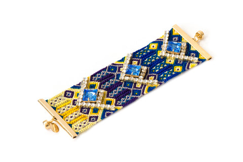 Friendship Cuff Cornflower