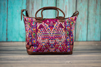 Huipil Overnighter Tote Bag Cross Body Purse Diaper Bag Vendetta