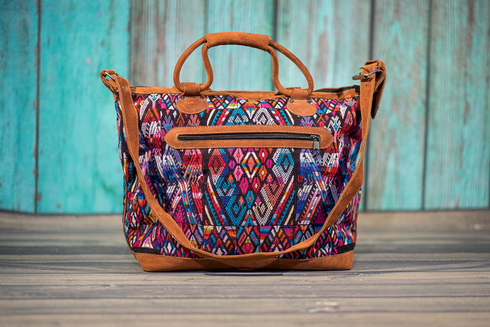 Huipil Overnighter Tote Bag Cross Body Purse Diaper Bag The Painter