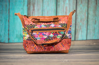 Huipil Overnighter Tote Bag Cross Body Purse Diaper Bag Water Colors