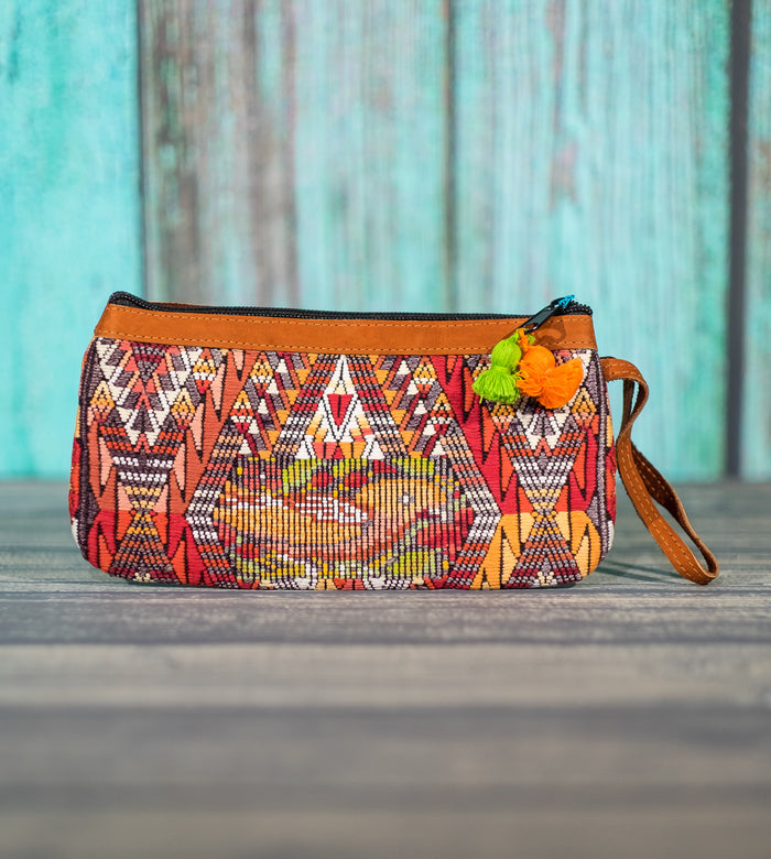 "Cosita Hupil Wristlet Bag ""Bird Song"""