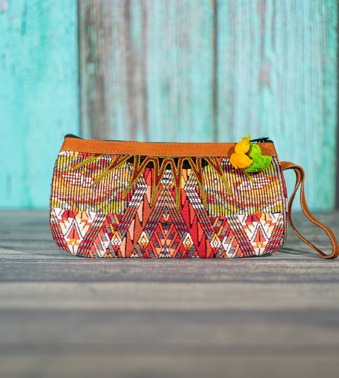 "Cosita Hupil Wristlet Bag ""Bird Song 2"""