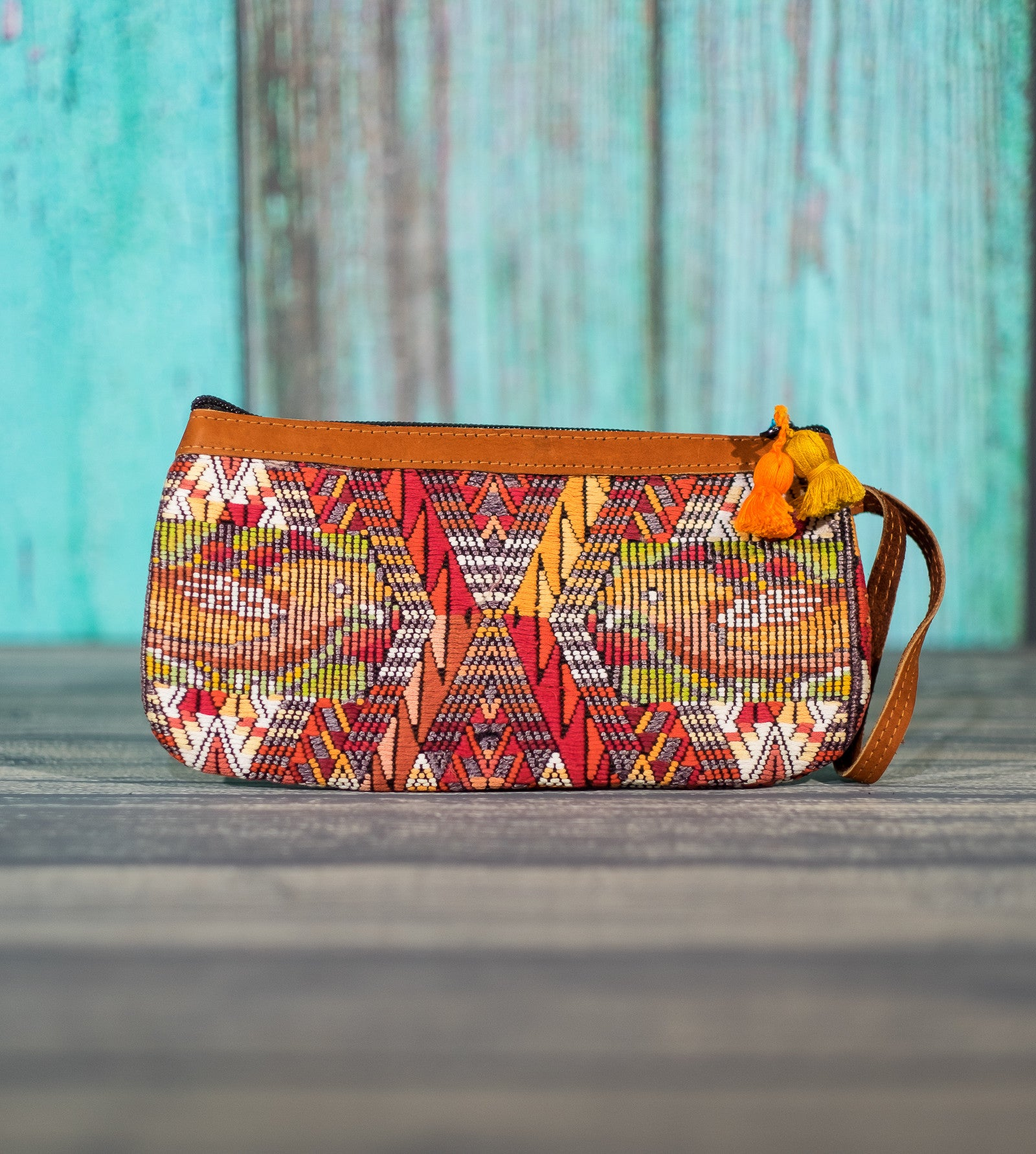 "Cosita Hupil Wristlet Bag ""Bird Song 3"""