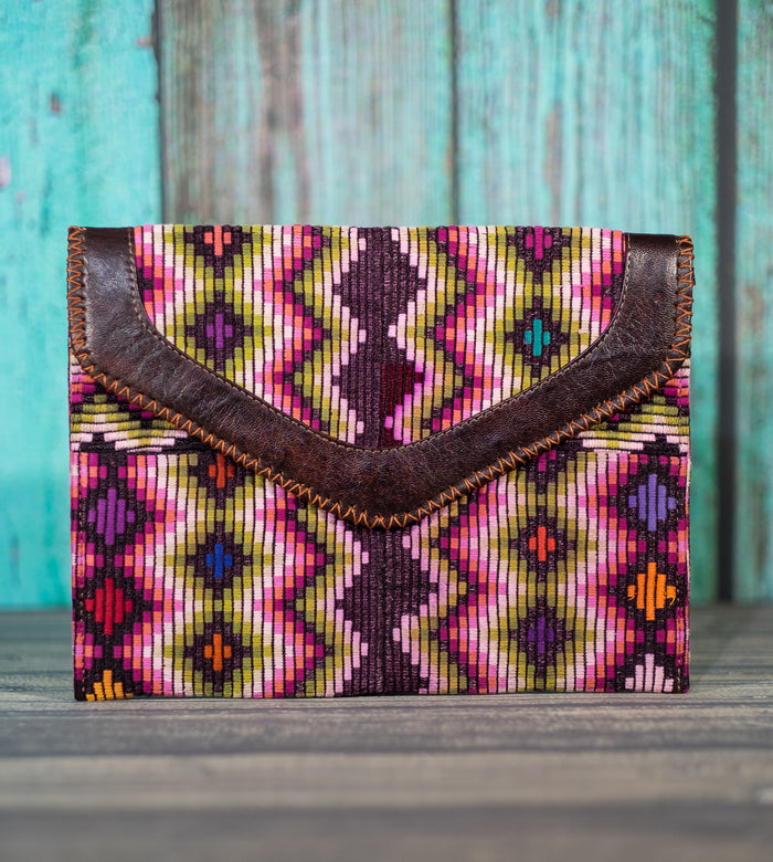 Huipil Dita IPad Clutch Digital Waves