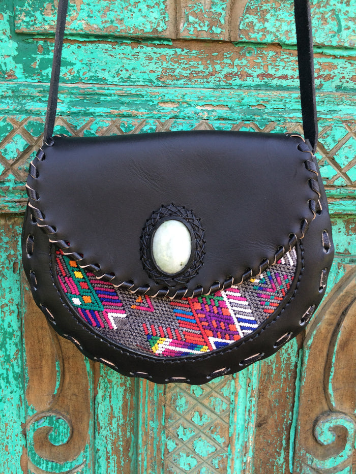 "Luna Bella Huipil Bag ""Prismatic"""