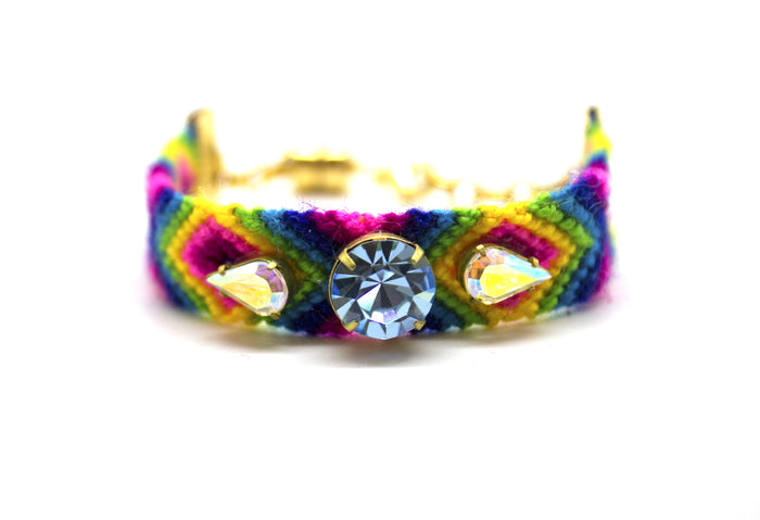 Prismatic Friendship Bracelet