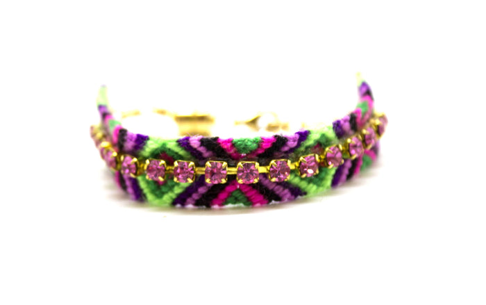 Serpentine Friendship Bracelet