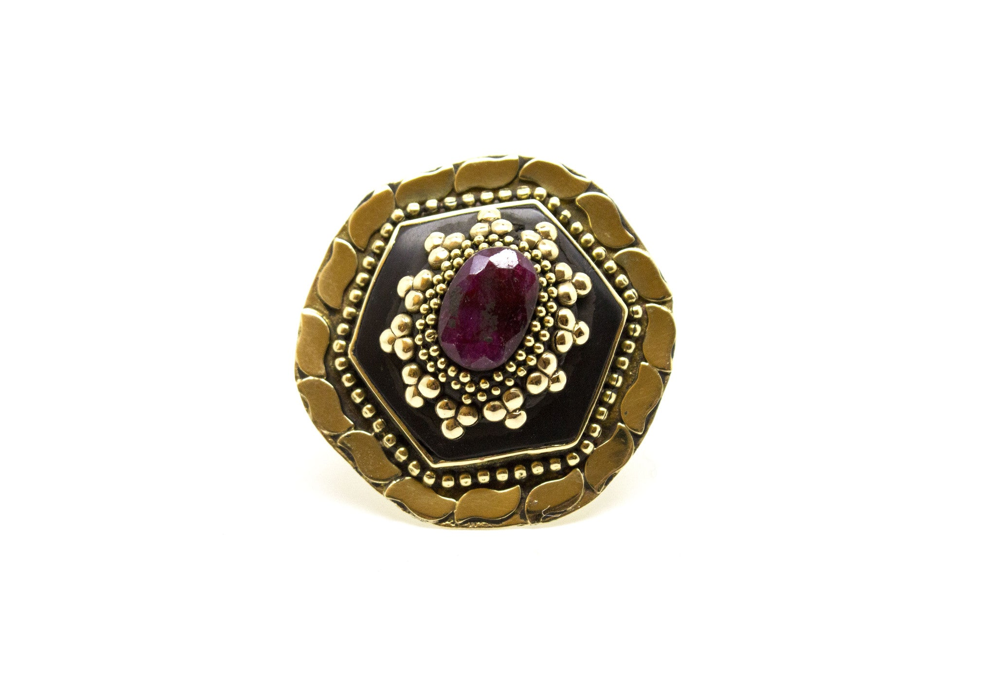 Gypsy Enamel Ring